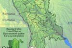 Gagauzie - přehledová mapa