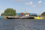 Giurgiuleşti - jediný moldavský přístav na Dunaji